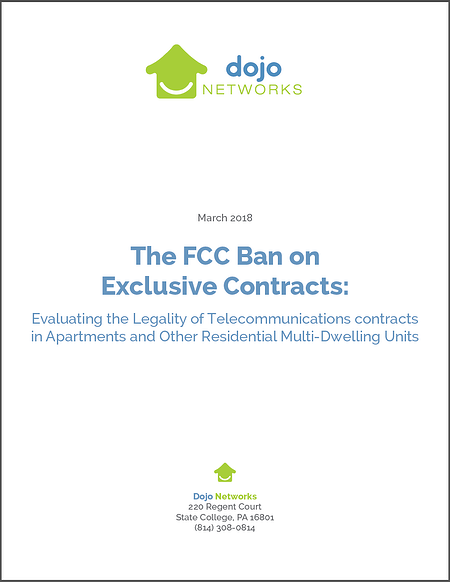 FCC Ban On Exclusive Internet Contracts in MDUs